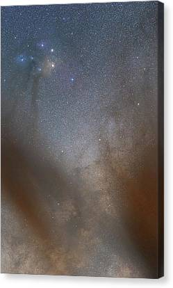 Rho Ophiuchi Cloud Complex Canvas Print