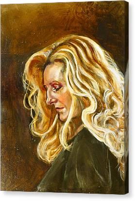 Rhoda Canvas Print by Renuka Pillai