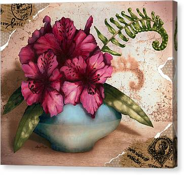 Rhododendron II Canvas Print by April Moen