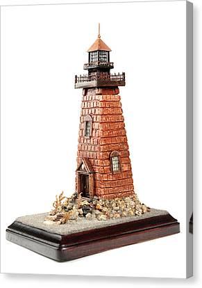 Rhody Lighthouse Canvas Print