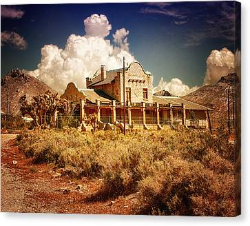 Rhyolite Station Canvas Print