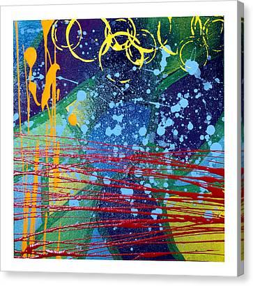 Rhythm And Melody  Canvas Print