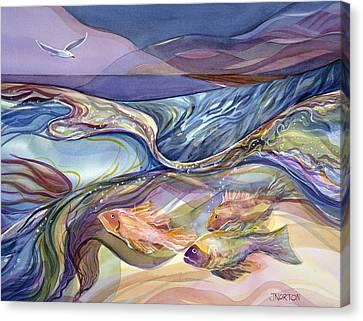 Rhythm Of The Bay Canvas Print