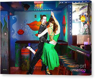 Rhythm Of The Dance Canvas Print by Judy Kay