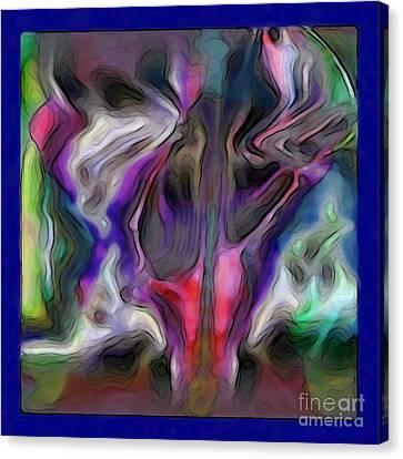 Rhythmic Vibes Canvas Print