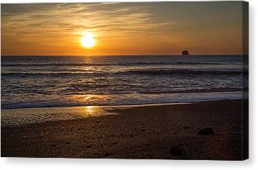 Rialto Beach Sunset Canvas Print by Pierre Leclerc Photography