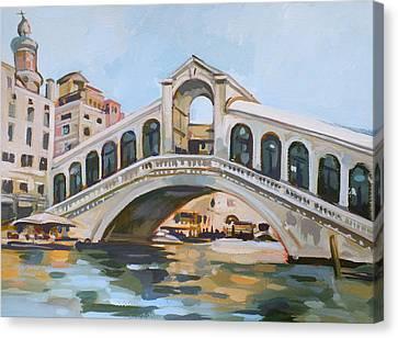 Rialto Bridge Canvas Print by Filip Mihail