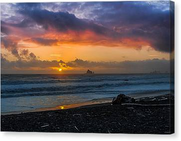 Rialto Sunset Canvas Print