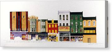 Rialto Theater Canvas Print by William Renzulli