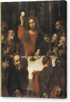 Ribalta, Juan 1596-1628. The Holy Canvas Print
