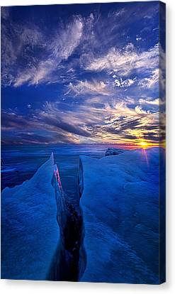 Ribband Of Blue Canvas Print by Phil Koch