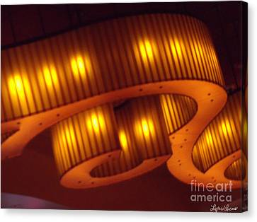 Glowing Ribbon Canvas Print by Lyric Lucas