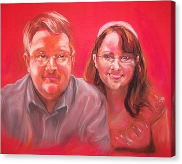 Richard And Lori Canvas Print