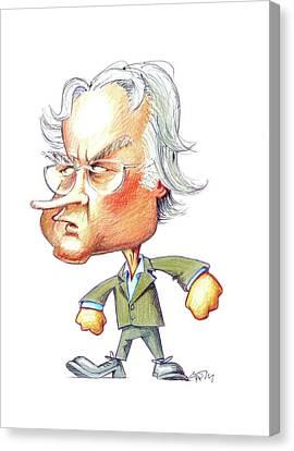 Richard Dawkins Canvas Print