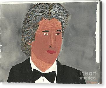 Richard Gere Canvas Print by Tracey Williams