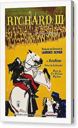 Richard IIi, British Poster Art, 1955 Canvas Print by Everett