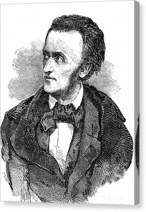 Richard Wagner Canvas Print by Collection Abecasis