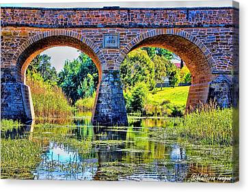 Richmond Bridge Canvas Print by Wallaroo Images
