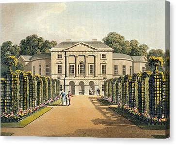 Richmond Park Canvas Print by Humphry Repton