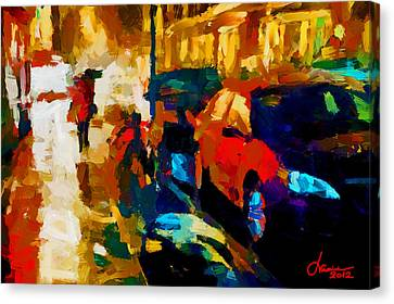 Richmond Street Tnm Canvas Print by Vincent DiNovici