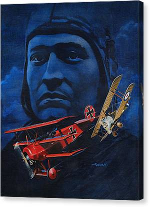 Richthofen And Brown Canvas Print