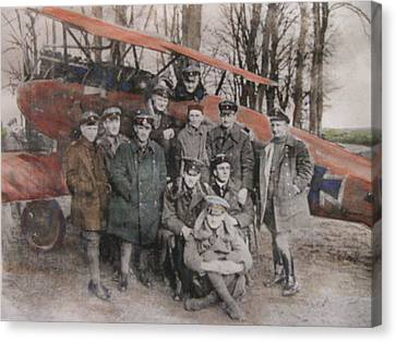 Richthofen And His Flying Circus Canvas Print