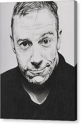 Rick Fortson - Rick Kills Pencils Canvas Print