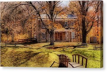Rickenbaugh House Canvas Print by Sandy Keeton