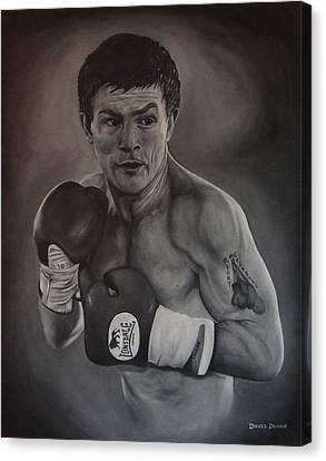 Ricky Hatton Canvas Print by David Dunne