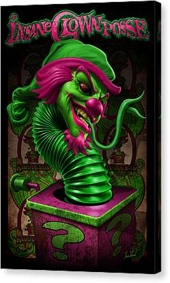 Riddle Box Dc Canvas Print by Tom Wood