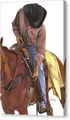 Ride To Raton Canvas Print