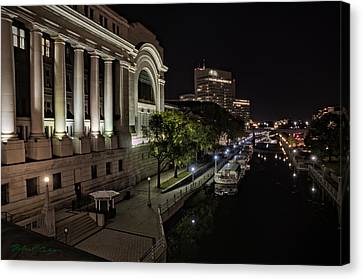 Canvas Print featuring the photograph Rideau Canal by Robert Culver