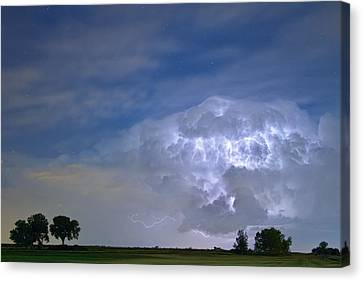 Riders On The Storm  Canvas Print by James BO  Insogna