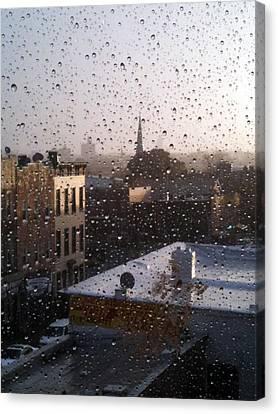 Ridgewood Canvas Print - Ridgewood Wet With Rain by Mieczyslaw Rudek Mietko