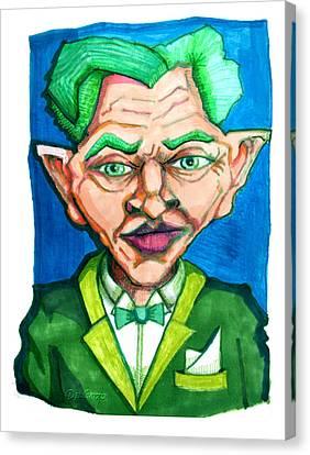 Ridiculously Successful Future Self Canvas Print by Del Gaizo