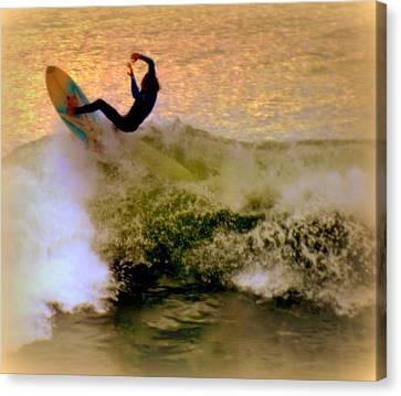 Riding High Canvas Print by Karen Wiles