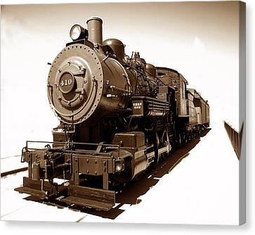Canvas Print featuring the photograph Riding The 410 by Raymond Earley