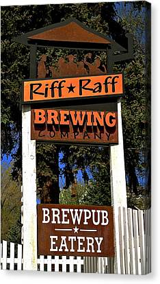 Riff Raff Brewing Canvas Print