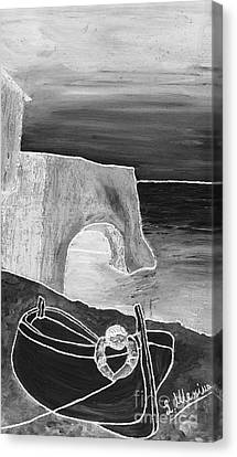 The Boat Canvas Print by Loredana Messina