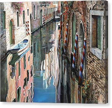 Riflessi Colorati A Venezia Canvas Print