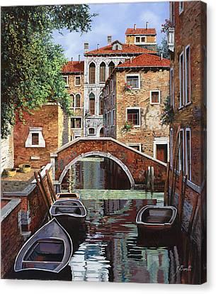 Riflessi Di Venezia Canvas Print