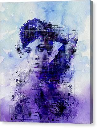 Rihanna Canvas Print - Rihanna 2 by Bekim Art