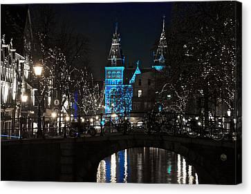 Rijksmuseum In Blue Canvas Print
