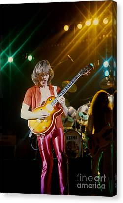 Rik Emmett Of Triumph At The Warfield Theater In San Francisco Canvas Print