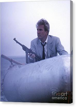 Rik Van Nutter As Felix Leiter In Thunderball Canvas Print by The Harrington Collection