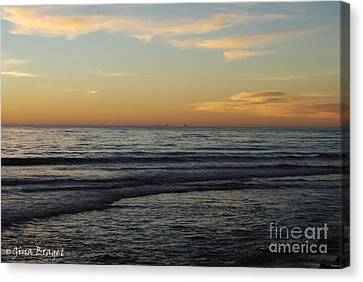 Rincon Ventura California  Canvas Print by Gina Braget