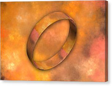 Ring Canvas Print by Betsy C Knapp