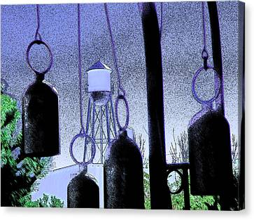 Ring Them Bells Canvas Print by Lenore Senior