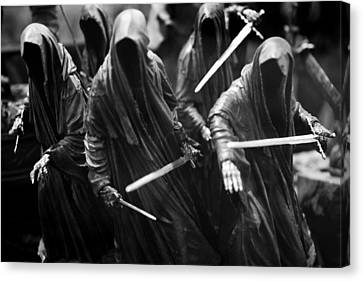 Canvas Print featuring the photograph Ring-wraiths by Nathan Rupert