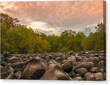 Ringing Rock Canvas Print by Kristopher Schoenleber
